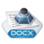 64x64px size png icon of Office word docx
