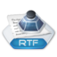 64x64px size png icon of Office word rtf