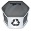 64x64px size png icon of System trash full