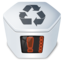 64x64px size png icon of System trash v2 full