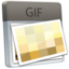 64x64px size png icon of File GIF
