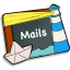 64x64px size png icon of Mails