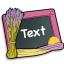 64x64px size png icon of Text