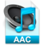 64x64px size png icon of iTunes aac