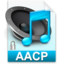 64x64px size png icon of iTunes aacp