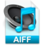 64x64px size png icon of iTunes aiff