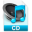 64x64px size png icon of iTunes cd