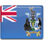 64x64px size png icon of South Georgia Flag