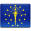 64x64px size png icon of Indiana Flag