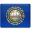 64x64px size png icon of New Hampshire Flag