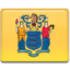 64x64px size png icon of New Jersey Flag