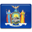 64x64px size png icon of New York Flag