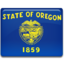 64x64px size png icon of Oregon Flag