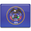 64x64px size png icon of Utah Flag