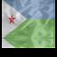 64x64px size png icon of Djibouti