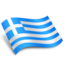 64x64px size png icon of Greece Ellas Flag
