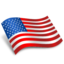 64x64px size png icon of USA Flag