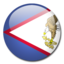 64x64px size png icon of American Samoa Flag
