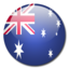 64x64px size png icon of Australia Flag