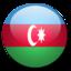 64x64px size png icon of Azerbaijan Flag