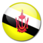 64x64px size png icon of Brunei Flag