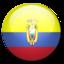 64x64px size png icon of Ecuador flag