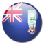 64x64px size png icon of Falkland Islands flag