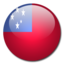 64x64px size png icon of Samoa Flag