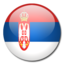 64x64px size png icon of Serbia Flag