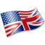 64x64px size png icon of English Language Flag 2