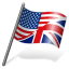 64x64px size png icon of English Language Flag 3