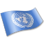 64x64px size png icon of United Nations Flag 2