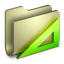 64x64px size png icon of Applications Folder