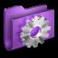 64x64px size png icon of Developer Purple Folder