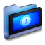 64x64px size png icon of Movies Blue Folder
