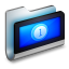 64x64px size png icon of Movies Metal Folder