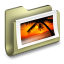 64x64px size png icon of Photos Folder