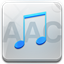 64x64px size png icon of aac