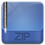 64x64px size png icon of archive zip