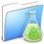 64x64px size png icon of Aqua Smooth Folder Experiments copy