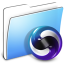 64x64px size png icon of Aqua Smooth Folder Themes