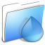 64x64px size png icon of Aqua Smooth Folder Torrents