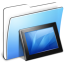 64x64px size png icon of Aqua Smooth Folder Wallpapers