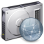 64x64px size png icon of Drive File Server Disconnected