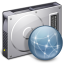 64x64px size png icon of File Server Graphite