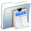 64x64px size png icon of Graphite Smooth Folder Documents