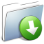 64x64px size png icon of Graphite Smooth Folder DropBox
