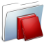 64x64px size png icon of Graphite Smooth Folder Library