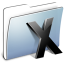 64x64px size png icon of Graphite Smooth Folder System