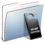 64x64px size png icon of Graphite Stripped Folder Do not disturb